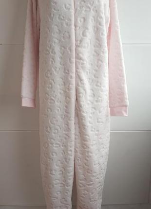 Теплый домашний комбинезон пижама кигуруми 20/22