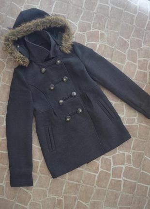 Демисезонное укороченное пальто ( куртка)