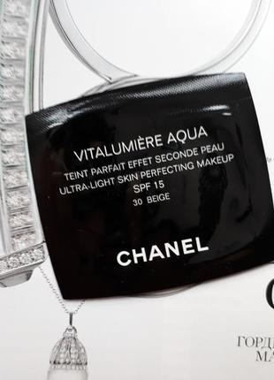 Тональный флюид chanel vitalumiere aqua
