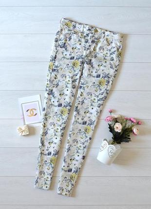 Стильні штани в квіти h&m.
