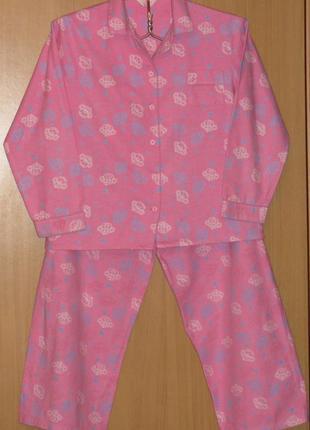 Пижама байковая нежная фирмы secret possessions (великобритания)