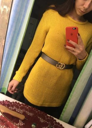 Платье свитер туника хит сезона