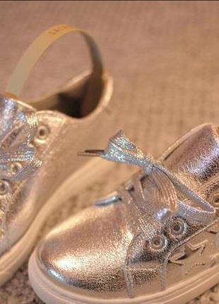 Женские кроссовки silver звезды осень весна 39 - 40