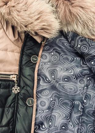 Зимнее пуховое пальто !!