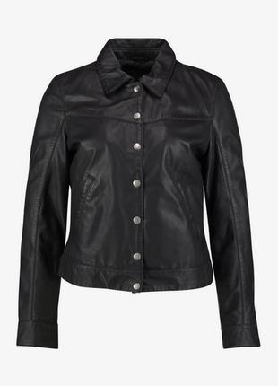 Новая. оригинал. 100% кожа. куртка goosecraft жакет s/m (44-46) пиджак кожанка