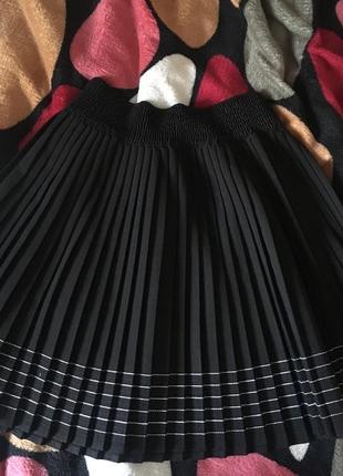 Плиссе юбка плиссированная