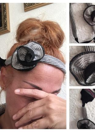 Аксессуар вязаный  для волос accessorise