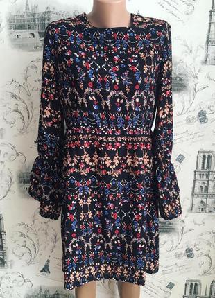 Очень красивое платье вольного кроя
