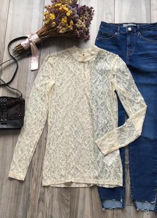Ажурная блуза vero moda