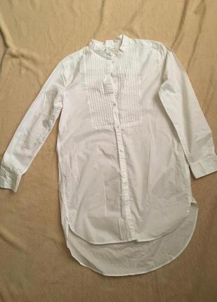 Рубашка туника. третья вещь в подарок.
