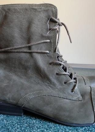 Кожаные фирменные ботинки tamaris 41р