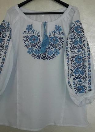 Красивая вышиванка для ценителей этнокультуры