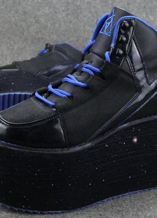 Ботинки на платформе buffalo кроссовки