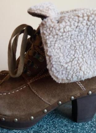 Фирменные зимние ботинки tamaris 38р