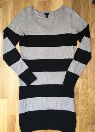 Платье h&m туника джемпер свитшот парка миди короткое мини