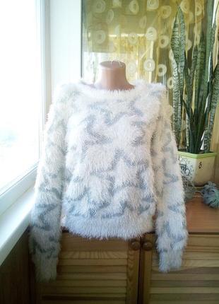 Уютный свитер - травка