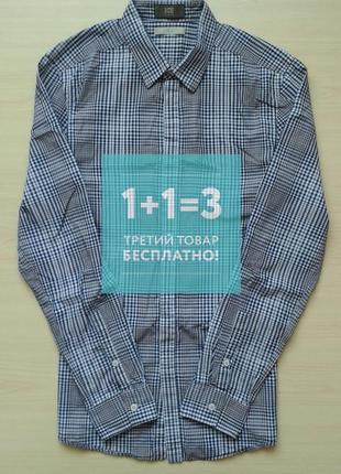 ♤ акция 1 + 1 = 3 ♤ фирменная брендовая рубашка iceberg, в клетку, l