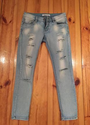 Рваные джинсы р. 36-38
