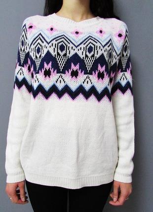 Мягенький вязаный свитер