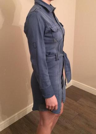 Продам джинсовое платье bershka