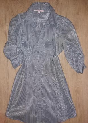 Рубашка удлиненная р.s