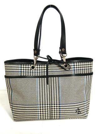 Стильная компактная сумка ralph lauren