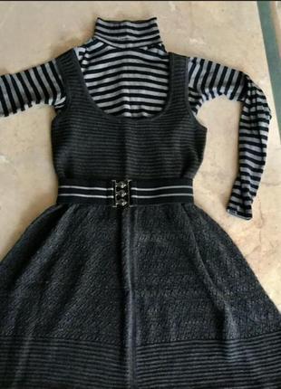 Платье туника сарафан mango
