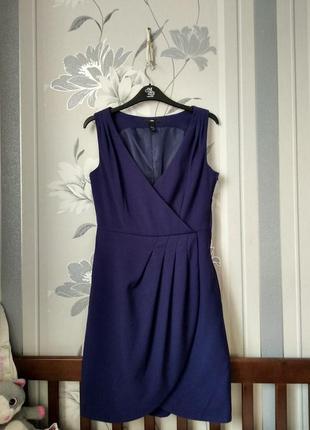 Платье с драпировкой на запах