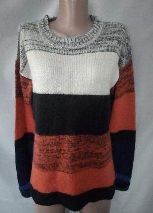 Оригинальный свитерок, свитер оверсайз