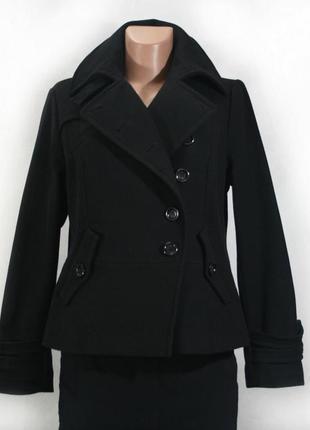 Шерстяное пальто next. 80% шерсть woolmark