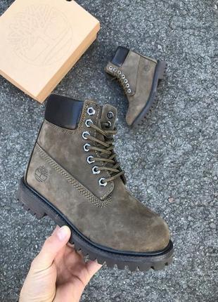 Женские ботинки timberland/ тимберленд, натуральная кожа, мех!!!