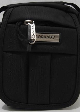 Мужская тканевая сумка gorangd (тёмно-серая)18-09-147