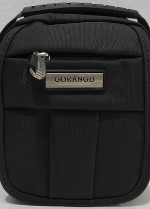 Мужская тканевая сумка gorangd (чёрная)18-09-147