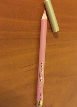 Color me карандаш для губ нюдовый