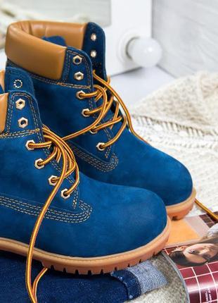 Женские ботинки timberland / тимберленд, натуральный нубук