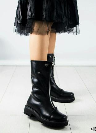 Ботинки женские модельные зимние