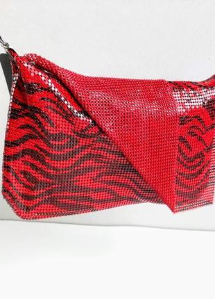 Редкая сумочка, кольчужка с клапаном. accessories