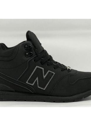 New balance ботинки мех зима зимние кроссовки