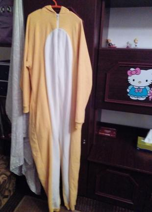 Кигуруми аниме косплей пижама банан