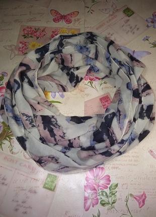 Симпатичний шарф хомут  50*80