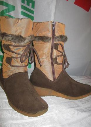 Зимние термо-сапожки ботинки symratex германия 37,5р. (24,5см.)