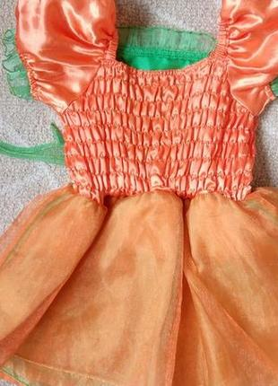 Карнавальное платье новогоднее хеллоуин tu на 1-2 года2 фото