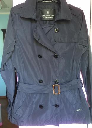 Стильная куртка тренч