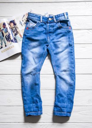Выбеленные джинсы зауженного кроя от george с карманами
