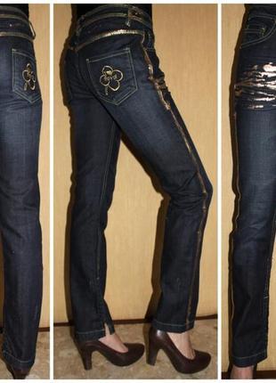 Бомбезные брендовые джинсы от royal fashion, оригинал, италия, м