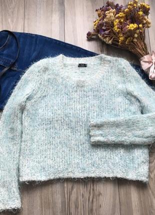 Мятный свитерок f&f