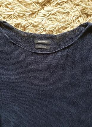 Лонгслив  marc o'polo, джемпер, свитер,   хлопок лен