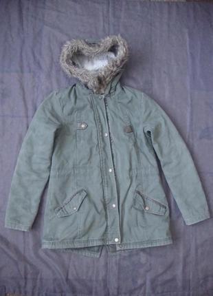 Тёплая куртка 152-158