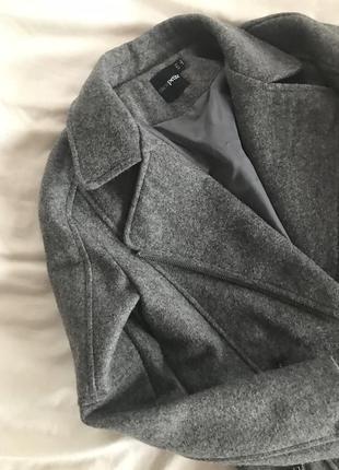 Пальто шерстяное, полупальто