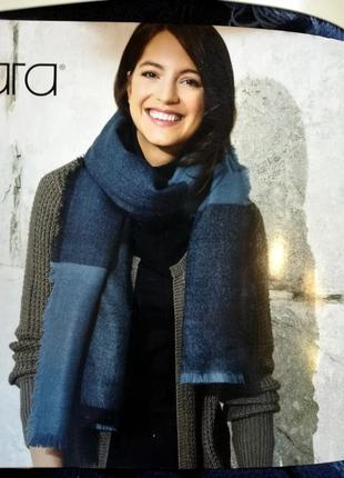 Теплый шарф 80*180 палантин esmara германия накидка